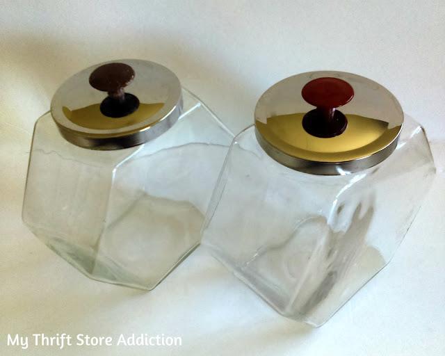 Vintage penny jars