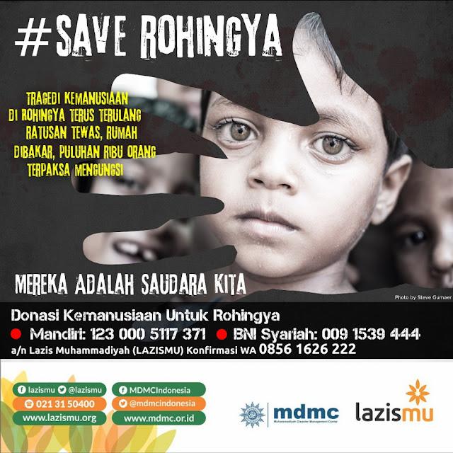 Save Rohingya, Kepedulian Kita, Mereka Nantikan