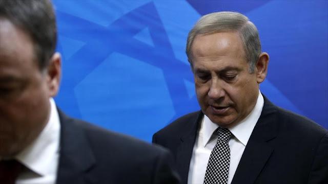 """Netanyahu denuncia una """"campaña"""" para derrocarlo"""