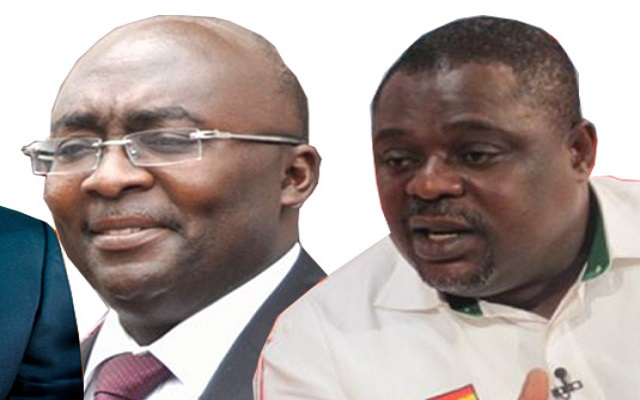 Vice Prez. Dr. Bawumia and Koku Anyidoho - Deputy General Secretary of NDC