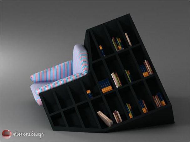 70 Best Bookshelf Designs 32