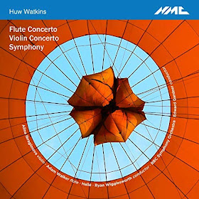 Huw Watkins - Two concertos and a symphony - NMC