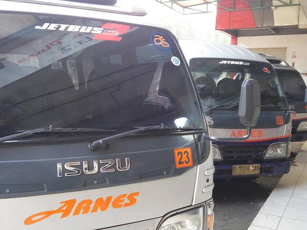Layanan Travel Arnes Jatinangor Bandung Purwakarta Jakarta