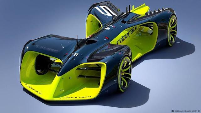 Robo Race Car Design: First Roborace autonomous racecar