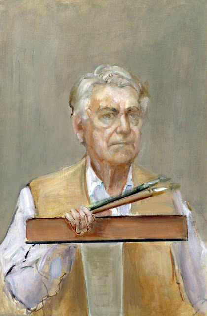 Rodrigo Moynihan, Self Portrait, Portraits of Painters, Fine arts