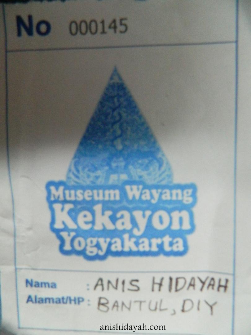 Tiket Masuk Museum Wayang Kekayon