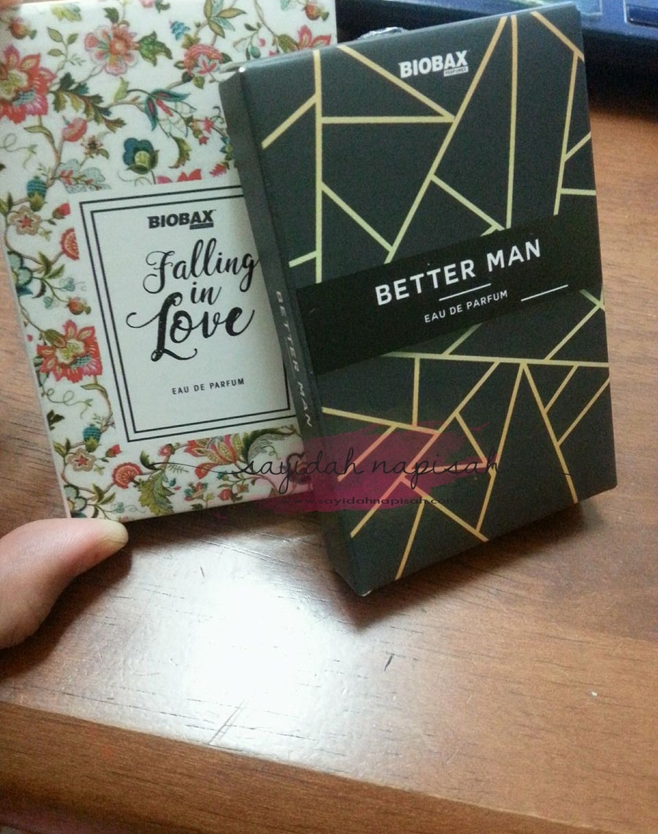 Perfume Biobax Better Man & Falling In Love - serius wangi, bau best!
