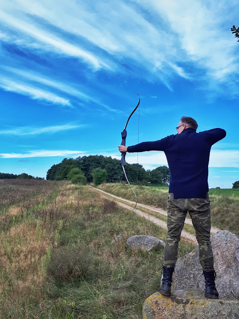 Volker aka Der Viking is a big archery fan