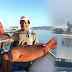 Chinese coast guards who used to drive away Filipino fishers before, now share food
