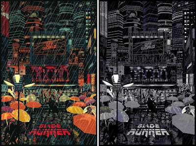 Blade Runner Screen Print by Raid71 x Bottleneck Gallery