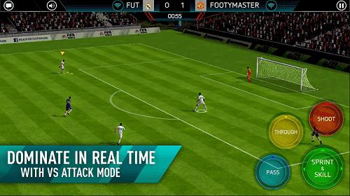 تحميل وتنزيل لعبة فيفا FIFA 2018 لهواتف الأندرويد بحجم صغير