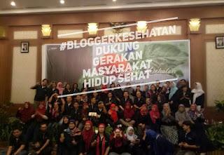 Blogger Kesehatan Dukung GERMAS