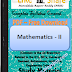 Engineering Mathematics -2 PDF Study Materials cum Notes, Engineering E-Books Free Download