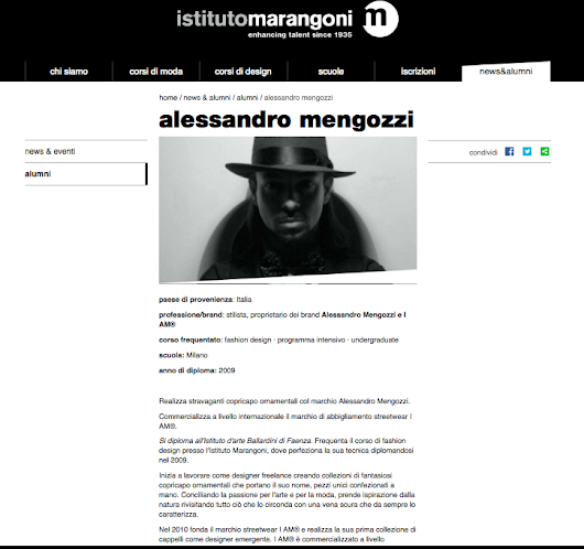 Thank you ISTITUTO-MARANGONI MILAN