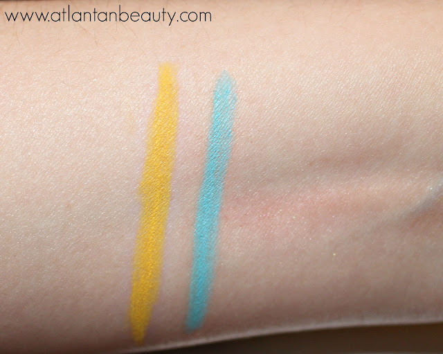 Review and Swatches of NYX Cosmetics Electro Liner in Powerlines and Coastal