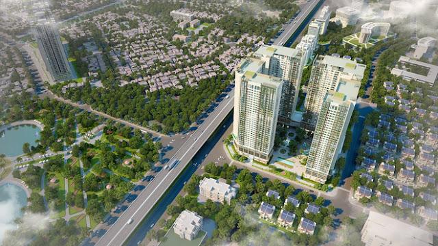 Dự án chung cư Eco Green City ở phía Tây Nam Hà Nội