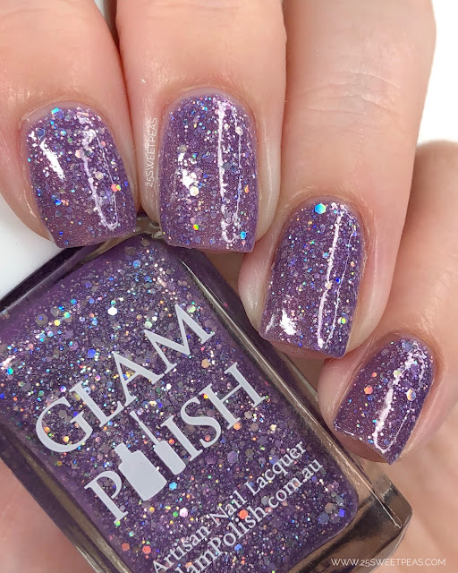 Glam Polish Cursed 25 Sweetpeas