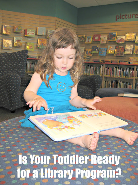 Library program readiness checklist for parents of young kids