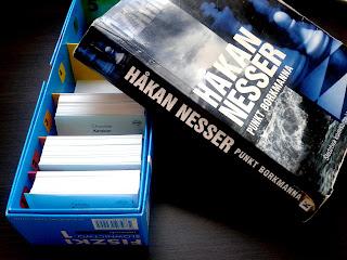 Fiszki słownictwo język norweski Cztery Głowy zestaw STARTER A1 książka Haakan Nesser