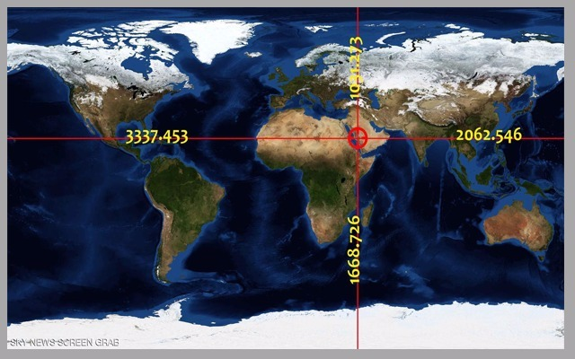 Google earth finally settle the debate and identifies the golden thus the site of the kaaba is the only one on the planet earth to achieve the golden ratio in length and width which is demonstrated by measurements of gumiabroncs Choice Image