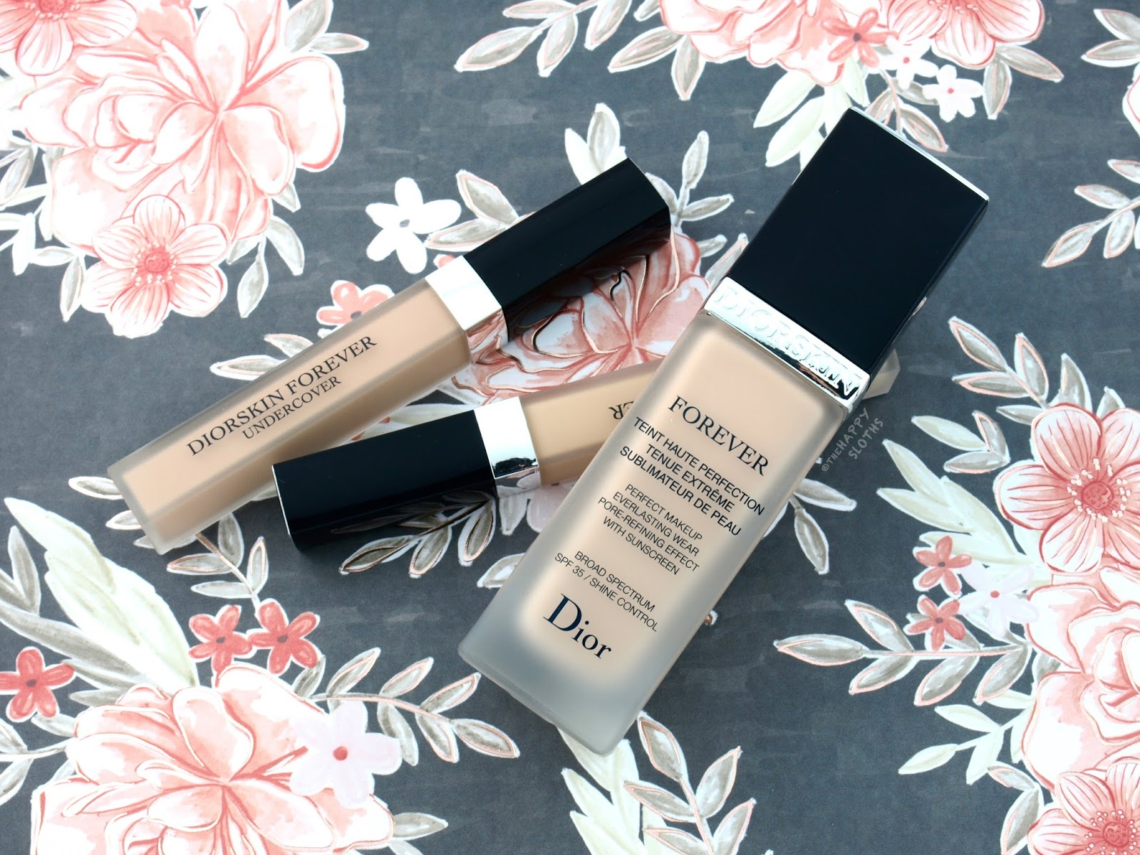 Dior Diorskin Forever Perfect Foundation & Forever Undercover Concealer: Review and Swatches