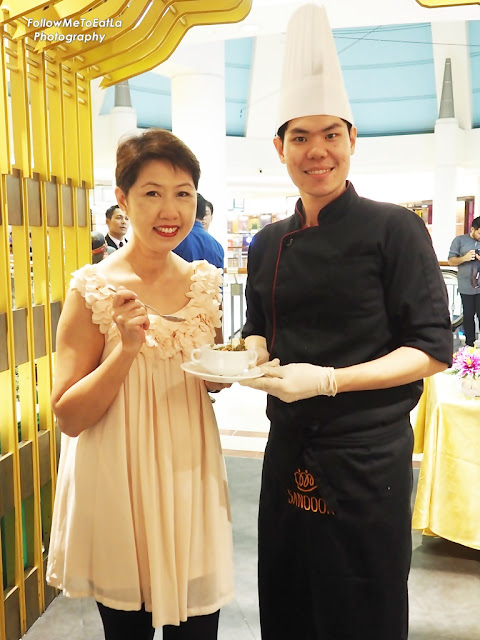 Happy Eats With Chef Chatree As He Serves His Special Dish Of Thai Laksa