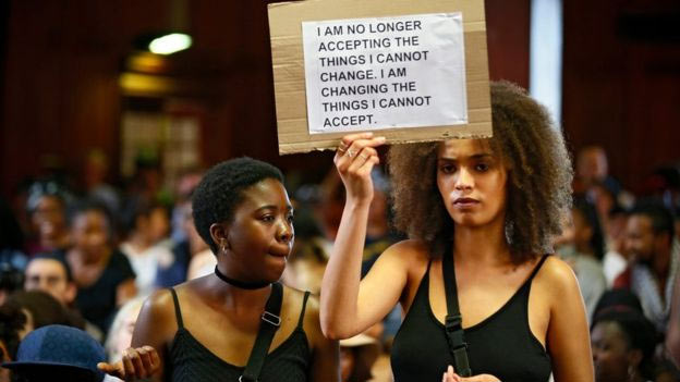 South Africans protest: Because condoms are free, education should also be free