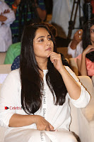 Actress Anushka Shetty New Pos in White Dress at World Of Baahubali Launch  0011.JPG
