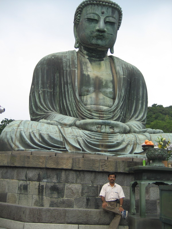 Kamakura Buddha statue in Japan