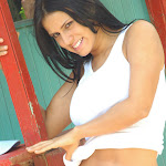 Andrea Rincon, Selena Spice Galeria 33: Gorra Azul, Cachetero Azul Foto 64