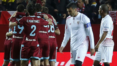 Crónica Sevilla FC 1 Vs Real Sociedad 2