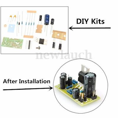DIY Kit subwoofer power amp