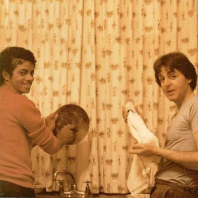 Michael Jackson y Paul McCartney