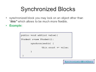 Top 10 Java Synchronization interview questions