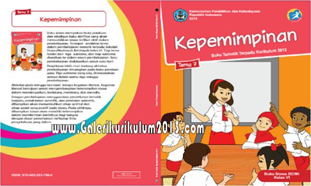 Buku Kurikulum 2013 Kelas 6 Semester 2 SD/MI Revisi Tahun 2018