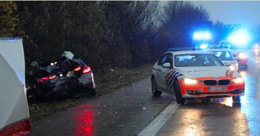 Crash mortel sur une autoroute belge: voici nos infos (photos)