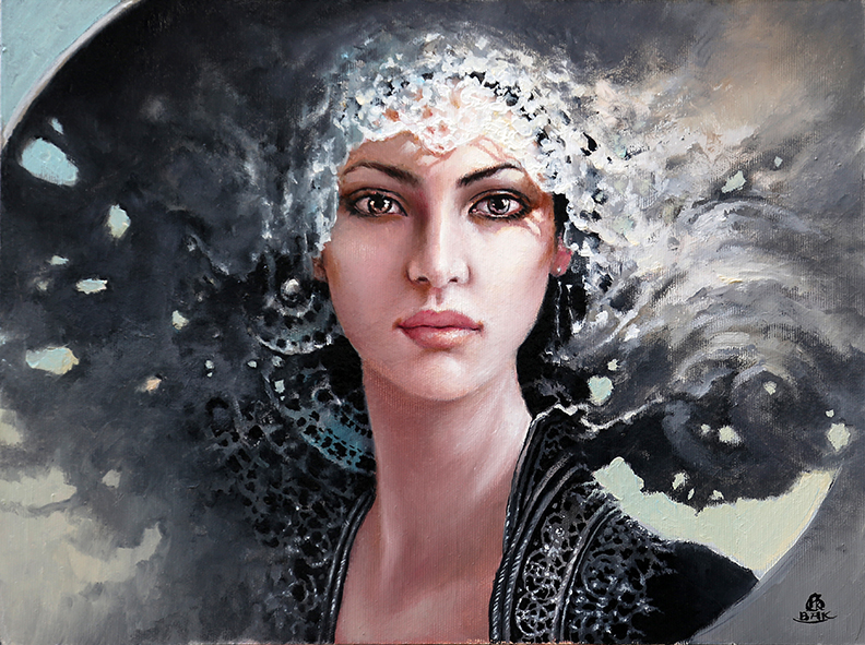 13-Karol-Bąk-Beautifully-Stylised-Portrait-Paintings-www-designstack-co