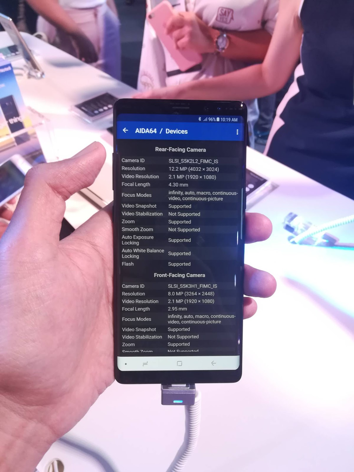 Samsung Galaxy Note 8 Now in PH, First Look, Benchmarks, Cam Samples