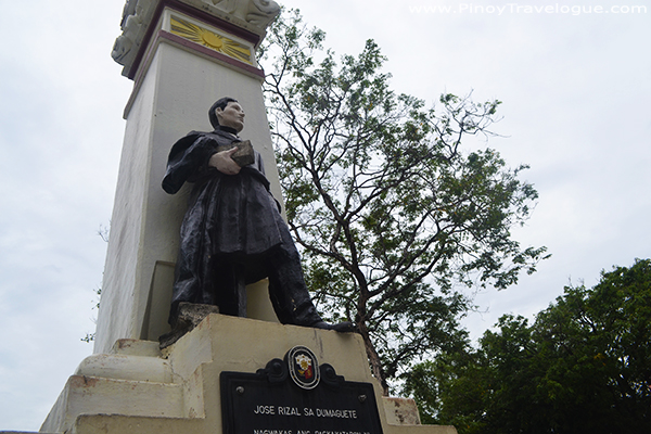 Jose Rizal's Statue in Dumaguete