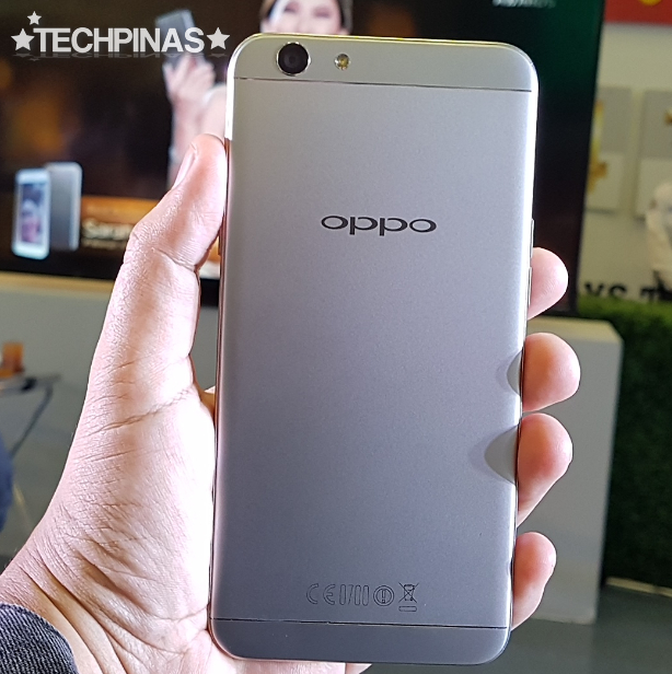 OPPO F1s Metallic Gray