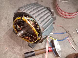 2hp single phase induction motor winding data 2hp 1440 rpm motor rewinding data