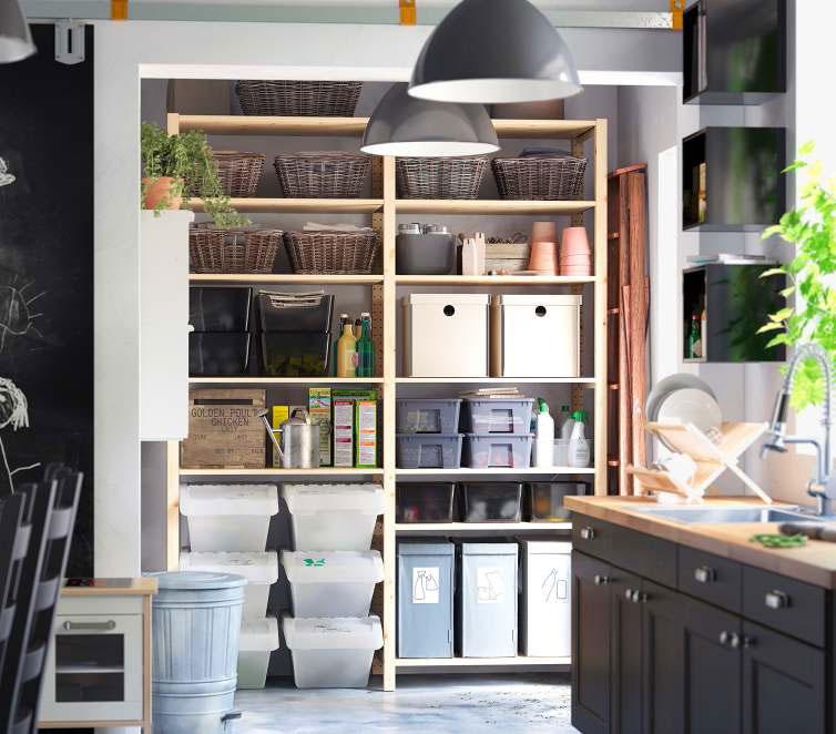 Storage Design Ideas: Modern Furniture: New IKEA Storage Decorating Ideas 2012