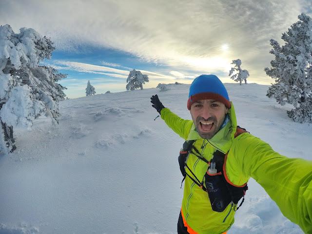 SnowRunning en la Sierra de Guadarrama