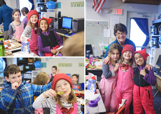 2nd Grade Christmas Party - Moscow Charter School