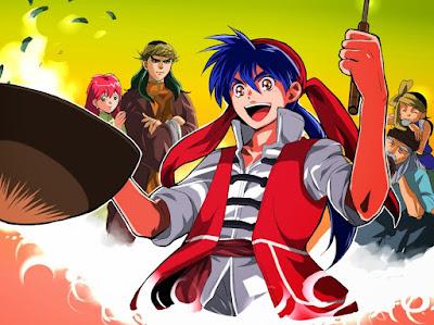 Cooking Master Boy (Chuuka Ichiban!) Batch Sub Indo