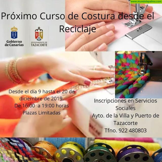 Curso de Costura desde el Reciclaje en Tazacorte
