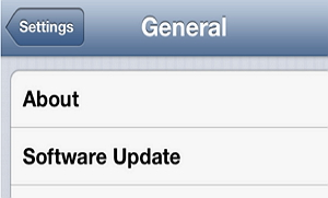 How to upgrade to iOS 7?