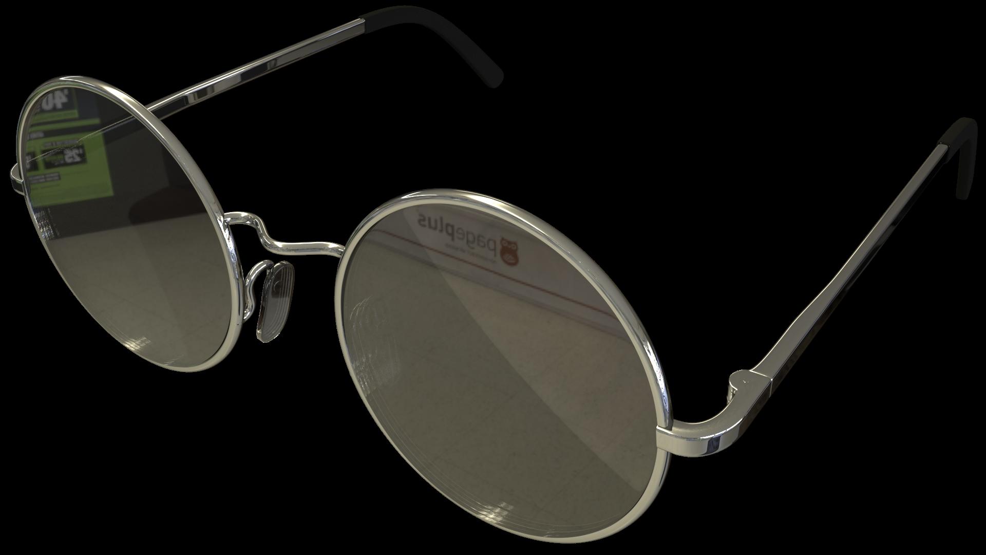 Free 3D Retro Sunglasses CC0 3DS - Free 3D Models Under Public Domain