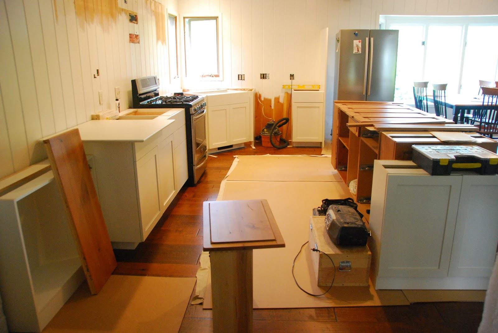 U Kitchen Remodel