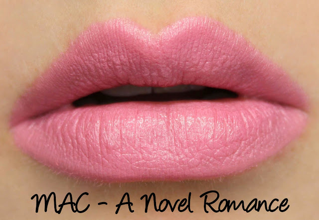 MAC MONDAY | A Novel Romance - A Novel Romance Lipstick Swatches & Review